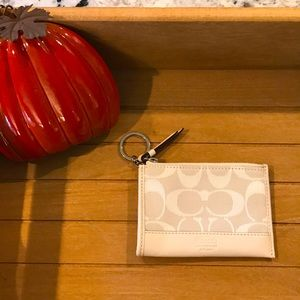 Coach Coin Purse Keychain and Card Holder! 🧡🥰